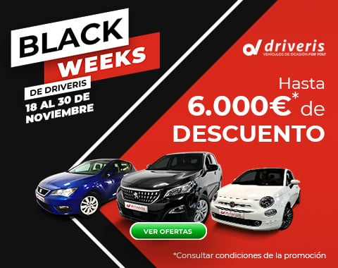 Black weeks de Driveris. Aprovecha el Black fFriday!